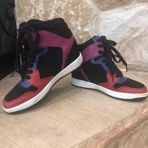 TOPSHOP hidden wedge sneakers
